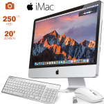 """Apple imac A1224, Core 2 Duo, 2.0 -2.4Ghz, 2GB RAM, 250GB HDD, 20"""" Screen, OS X EL Capitan, Free Wired Keyboard & Wirless Mouse"""