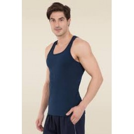 Falcon Super Cotton Men's 12 Pcs Innerwear Vest Assorted Color, WT710