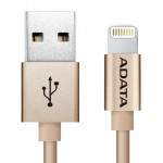 ADATA Aluminum Sync & Charge Micro USB Cable For All Android Devices, Gold