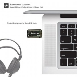 3D Sound Audio Controller,The Best Entertainment For Game & Music