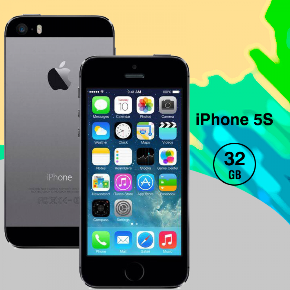 Apple iPhone 5S 32GB-R, Space Gray