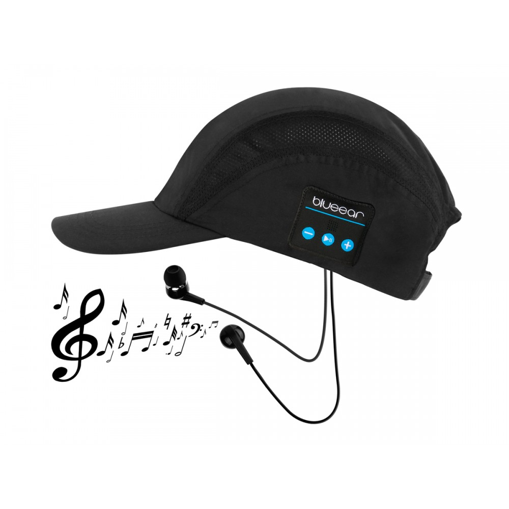 Wireless Bluetooth Music Cap With Mic, WB100