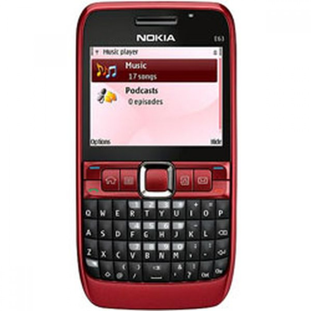codes for nokia e63