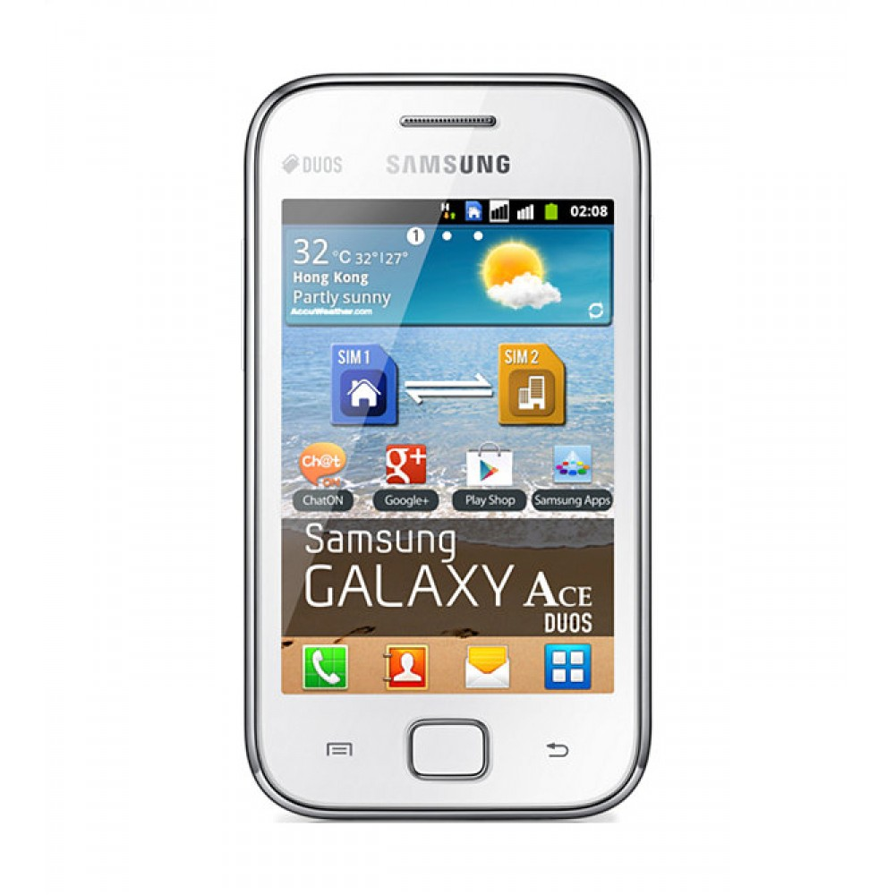 Samsung Galaxy Ace Duos S6802, White - (Available) in UAE, Best